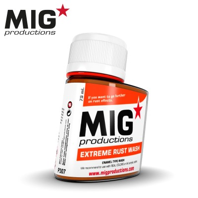 EXTREME RUST WASH (75 ml) - MIG Productions P307