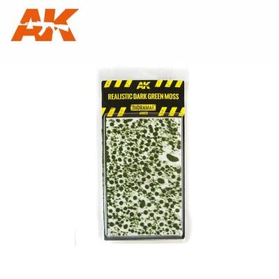 REALISTIC DARK GREEN MOSS - AK Interactive AK8131