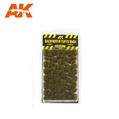 BACKWATER TUFTS (8 mm) - AK Interactive AK8128