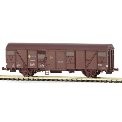 Vagón Jfvc 600561 Ep. IV, rejillas gris oscuro MABAR 81821 ECALA H0