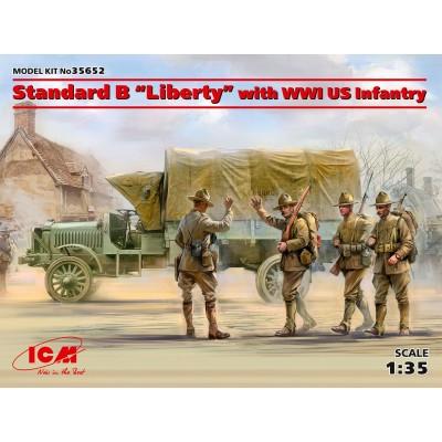 "CAMION STANDARD B ""Liberty"" & INFANTERIA U.S.ARMY -1/35- ICM 35652"