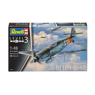 MESSERSCHMITT BF-109 G10 -Escala 1/48- Revell 03958