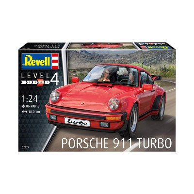 PORSCHE 911 TURBO ESCALA 1/25 REVELL 07179