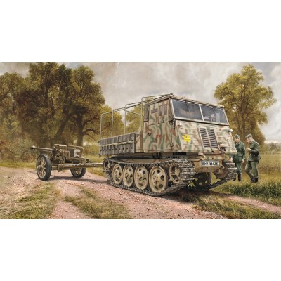 TRACTOR STEYR RSO/03 & CAÑON PAK-40 (75 mm) -1/35- Italeri 6563