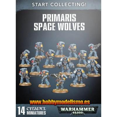 START COLLECTING PRIMARIS SPACE WOLVES - GAMES WORKSHOP 70-53