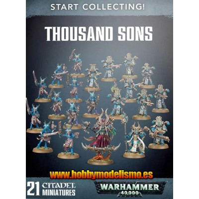 START COLLECTING THOUSAND SONS - GAMES WORKSHOP 70-55