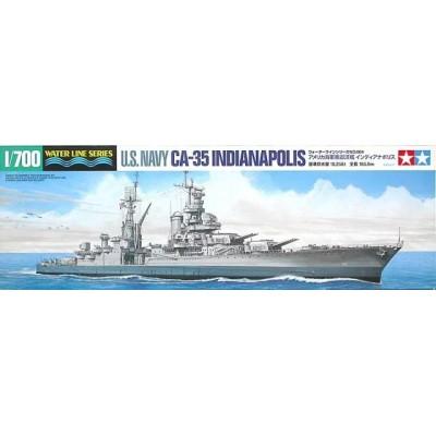 CRUCERO U.S.S. INDIANAPOLIS CA-35 -Escala 1/700- Tamiya 31804