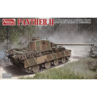 CARRO DE COMBATE PANTHER II (Rheinmetall) -1/35- Amusing Hobby 35A040