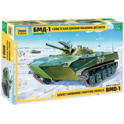 TRANSPORTE TROPAS BMD-1 -1/35- Zvezda 3559