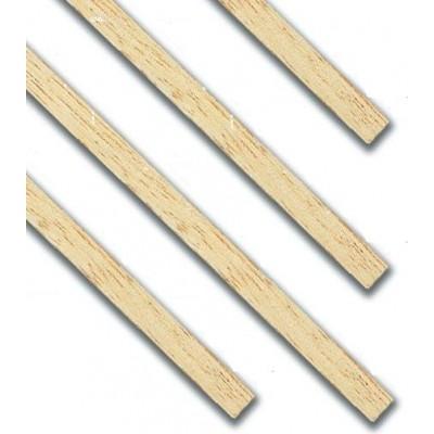 LISTON CUADRADO TILO (5 x 5 x 1000 mm) 5 unidades