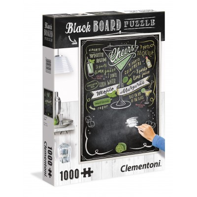 PUZZLE 1000 PZS BLACK BOARD CHEERS - CLEMENTONI 39467