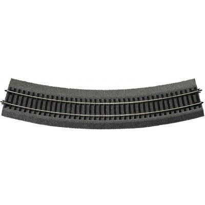 VIA RLB CURVA R5 (R: 542,80 mm) 30º -Escala h0 - 1/87- Roco 42525