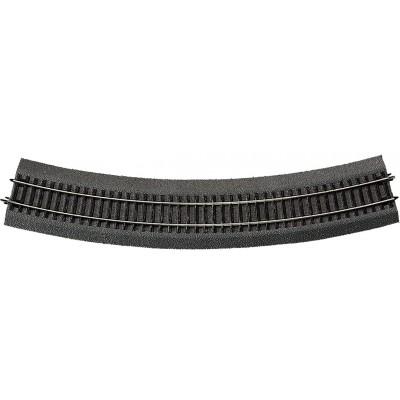 VIA RLB CURVA R6 (R: 604,40 mm) 30º -Escala h0 - 1/87- Roco 42526
