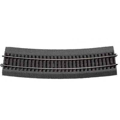 VIA RLB CURVA R9 (R: 826,40 mm) 15º -Escala h0 - 1/87- Roco 42527
