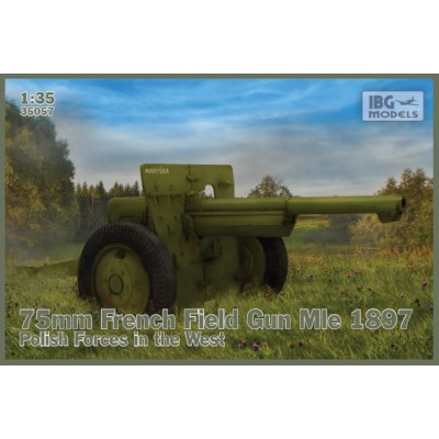 CAÑON Mod. 1897 (75 mm) POLONIA -1/35- IBG 35057