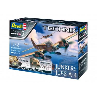 TECHNIK: JUNKERS JU-88 A4 -1/32- Revell 00452