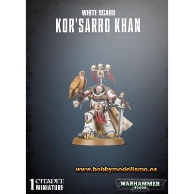 SPACE MARINE WHITE SCARS KOR-SARRO KHAN - GAMES WORKSHOP 48-88