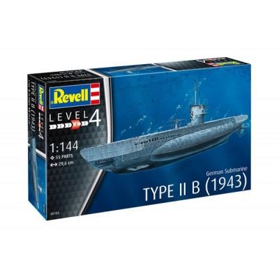 SUBMARINO Type II b (1943) -1/144- Revell 05155