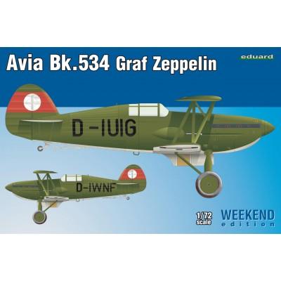 """AVIA Bk-534 """"Graf Zeppelin"""" -1/72- Eduard 7445"""