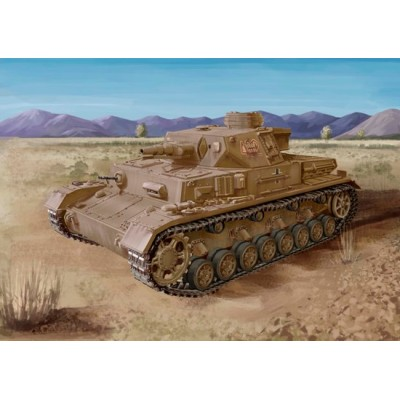 CARRO DE COMBATE Sd.Kfz. 161 Ausf F1 (F) Panzer IV -1/72- Dragon 7560