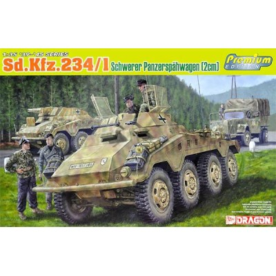 BLINDADO Sd.Kfz. 234/1 (20 mm) -1/35- Dragon 6879