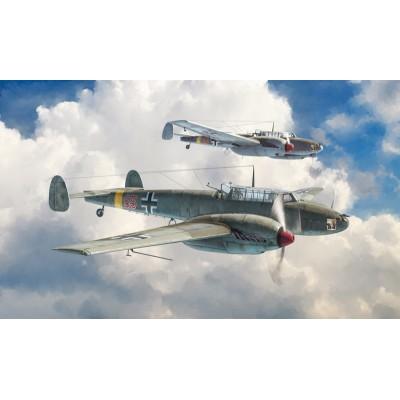 MESSERSCHMITT Bf-110 C/D -1/48- Italeri 2794