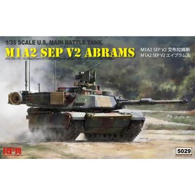 CARRO DE COMBATE M-1 A2 SEP V2 ABRAMS - Escala 1/35 - RYEFIELD MODEL 5029