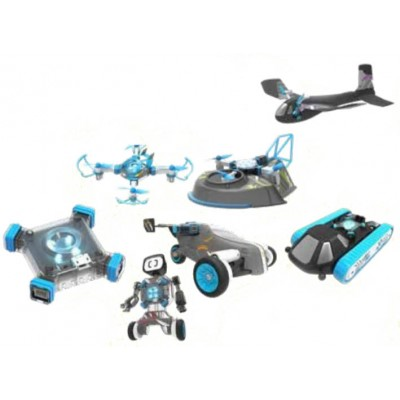 6 EN 1 RC MODULAR SMART VEHICLE KIT