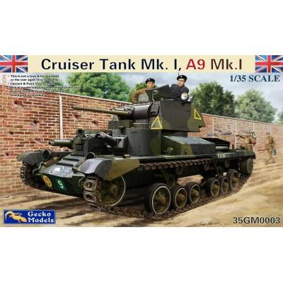 CARRO DE COMBATE CRUISER MK-I CS / A9 MK-I CS -1/35- Gecko Models 35GM0004
