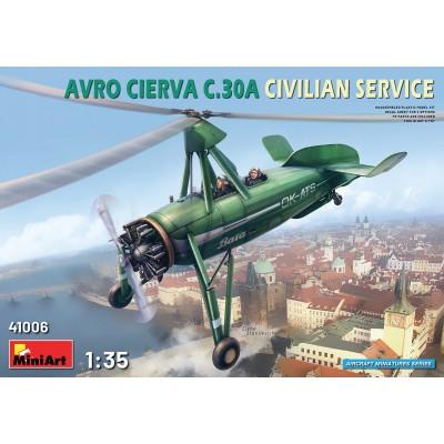 AVRO CIERVA C.30 A (Civil) -1/35- MiniArt Model 41006