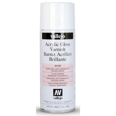 SPRAY ACRILICO BARNIZ BRILLO (400 ml)