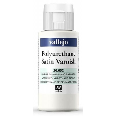 BARNIZ SATINADO POLIURETANO (60 ml) - Acrilicos Vallejo 26652