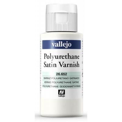 PINTURA POLIURETANO BARNIZ SATINADO (60 ml)