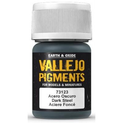 PIGMENTO ACERO OSCURO (30 ml) - Acrilicos Vallejo 73123