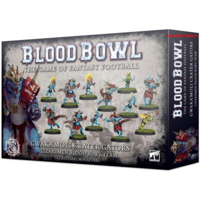 EQUIPO BLOOD BOWL LIZARMEN GWAKA MOLI CRATER GATORS - GAMES WORKSHOP 200-74