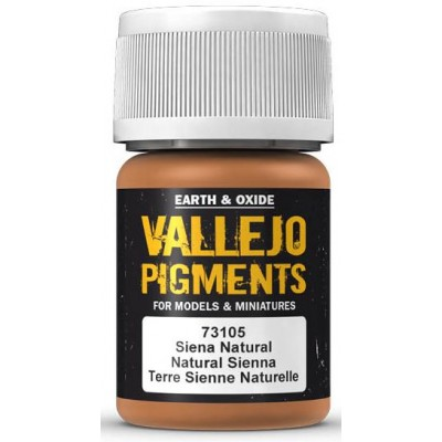 PIGMENTO SIENA NATURAL (30 ml) - Acrilicos Vallejo 73105