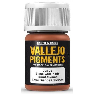 PIGMENTO SIENA CALCINADO (30 ml) - Acrilicos Vallejo 73106
