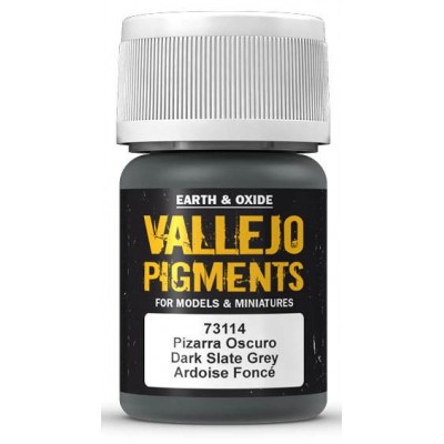 PIGMENTO PIZARRA OSCURO (30 ml) - Acrilicos Vallejo 73114