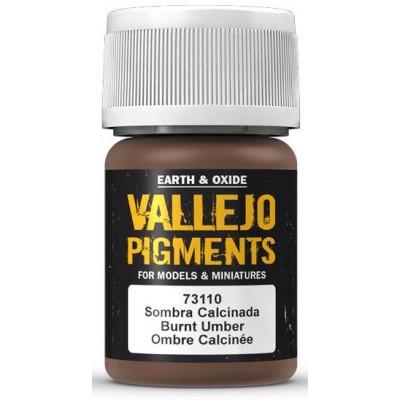 PIGMENTO SOMBRA CALCINADA (30 ml) - Acrilicos Vallejo 73101
