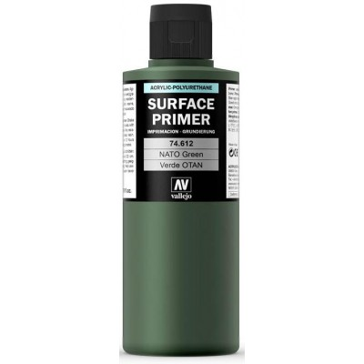 SURFACE PRIMER: VERDE OTAN F.S. 34094 (200 ml) - Acrylicos Vallejo 74612