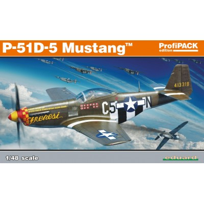 NORTH AMERICAN P-51 D-5 -1/48- Eduard 82101