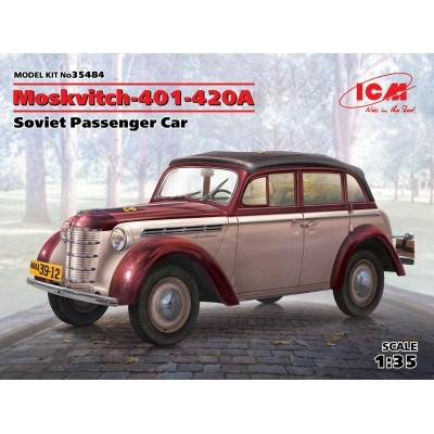 COCHE MOSKVITCH 401-402 A -1/35- ICM 35484