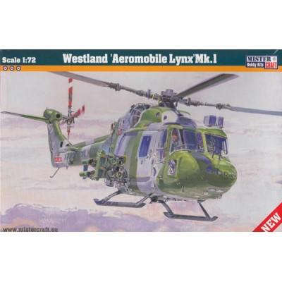 WESTLAND AEROMOBILE LYNX MK.I - ESCALA 1/72 - MISTER HOBBY CRAFT 040011