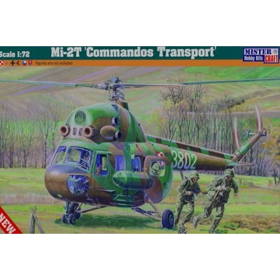 MIL MI-2T COMMANDOS TRANSPORT - ESCALA 1/72 - MISTER HOBBY CRAFT