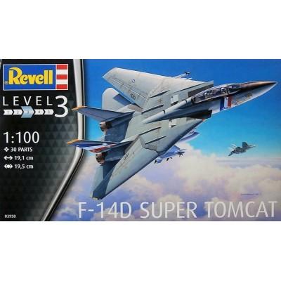 GRUMMAN F-14D SUPER TOMCAT - ESCALA 1/100 - REVELL 03950
