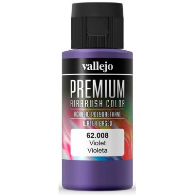PREMIUM RC: VIOLETA (60 ml) - Acrylicos Vallejo 62008