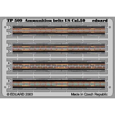 CANANAS DE MUNICION U.S. Cal. 0.50 -1/35- Eduard TP509