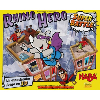 RHINO HERO SUPER BATTLE - HABA 303205