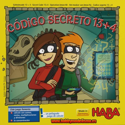 CODIGO SECRETO 13 + 4 - HABA 302249
