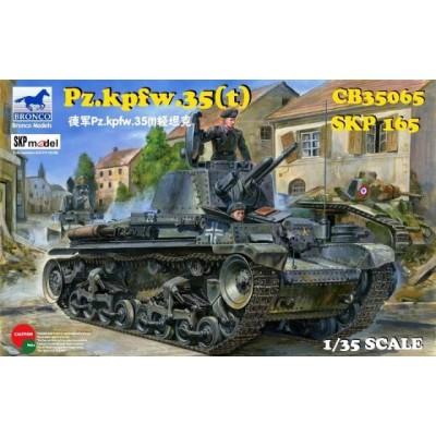 CARRO DE COMBATE SKODA LT vz.35 - Panzer Sd. Kfz. 35(t) -1/35- Bronco Models CB35065